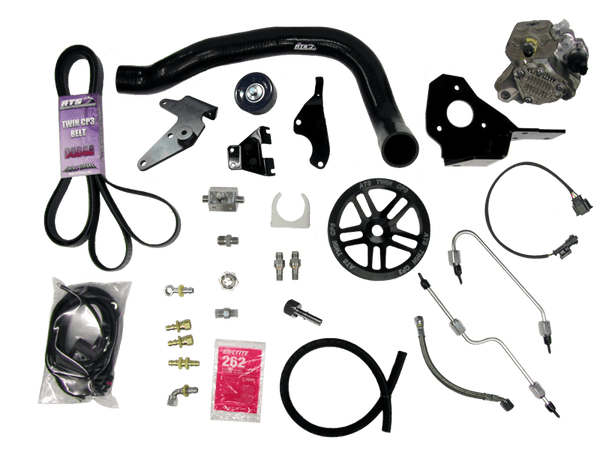 ATS Twin Fueler Injection Pump Kit, 2010-11 Dodge 6.7L