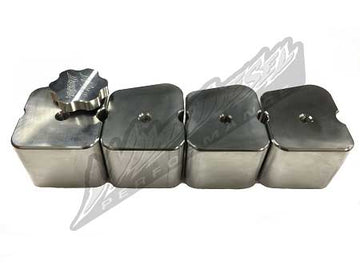Wild Diesel Billet Alum Valve Cover Singles - for Cummins Diesel 4BT 12V 89-98