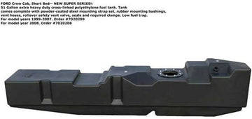 "TiTan Ford Powerstroke 1999-2007 Crew Cab, Short Bed ""New Super Series"" Fuel Tank #7020299"