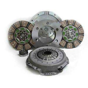 Valair Organic Dual Disc Clutch for 01-05 Dodge 5.9L Cummins Diesel 550hp