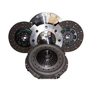 Valair Dual Disc Clutch Sintered Iron SFI Billet Flywheel 750-800HP For 99-03 Ford Powerstroke 7.3L