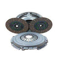 Valair Quiet Dual Disc Clutch Kit 550hp 1100ft-lbs For 94-03 Dodge Cummins 5.9L