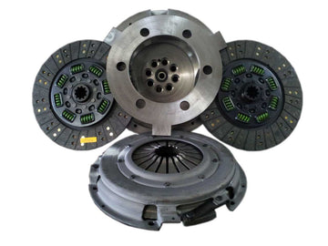 Valair Street Dual Disc Clutch for Ford Powerstroke 2003-2010 6.0L/6.4L 650HP