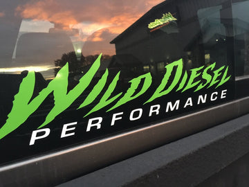 Wild Diesel Performance Large Truck Sticker