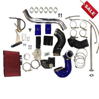 S300/S400 TWIN TURBO PIPING KIT FOR CUMMINS 5.9