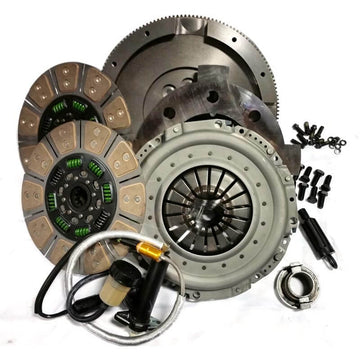 Valair Ceramic Dual Disc Clutch Kit for 05.5-12 Dodge Cummins 5.9L/6.7L 650hp