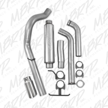 "MBRP 4"" Installer Series Turbo-Back Exhaust System S6216A"