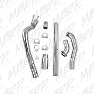 "MBRP S6282409 XP Series 4"" Filter-Back Exhaust w/ Downpipe"