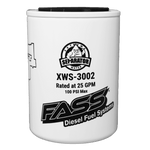 Fass Fuel System Replacement Fuel Filter & Water Separator Grey Titanium Series