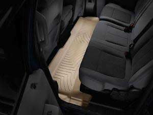 WeatherTech Tan Floor Liner Rear For 11-15 Ford (Crew Cab) w/o 4X4 Shifter