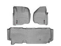 WeatherTech Grey Floor Liner Set For 11-12 Ford (Extended Cab) w/o 4X4 Shifter