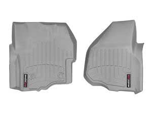 WeatherTech Grey Front Liners For 12-15 Ford (Crew Cab) W/ 4X4 Shifter