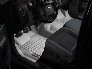 WeatherTech Grey Floor liner For 2011-12 Ford (Ext. & Crew Cab) w/o 4X4 Shifter