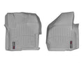 WeatherTech Grey Front Liners For 12-15 Ford (Regular Cab) W/ 4X4 Shifter