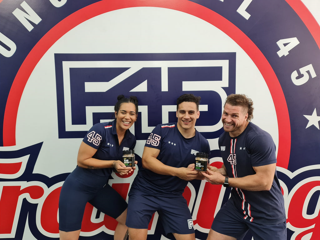 Kiwi Natural Energy Products a Hiit with F45