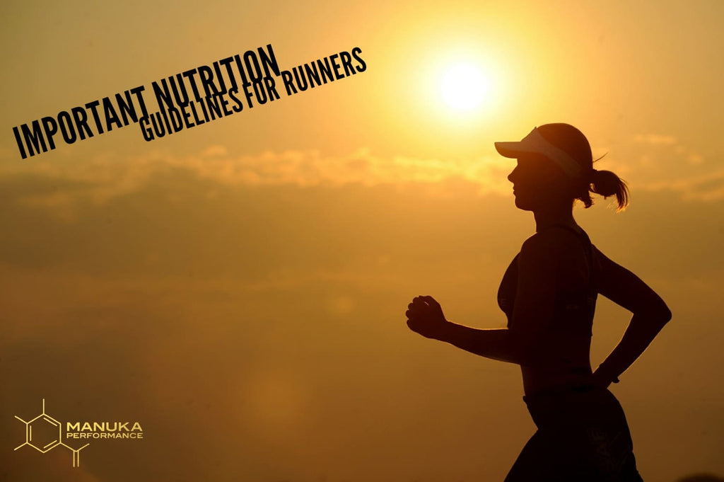 Manuka Performance Guidelines for Re-fueling after a run.