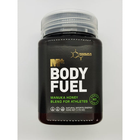 M+ Body Fuel - Add a spoonful to your daily routine for better sporting health.