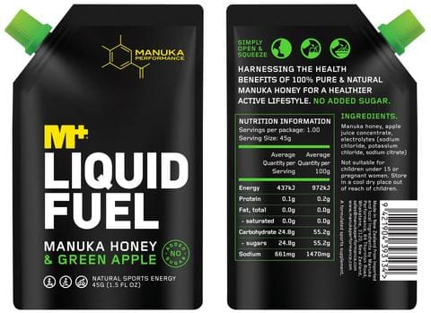 Manuka Performance Liquid Fuel Nutrition Panel