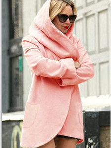 Plain Patch Pocket Coat