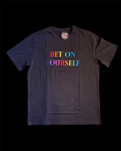 Bet On Yourself Rainbow T-Shirt