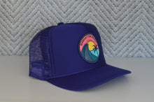 Load image into Gallery viewer, Youth Trucker Hat - Teal Wave