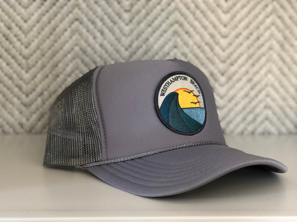 Adult ||| Trucker Hat ||| Westhampton Beach Three Birds - Local Stripes