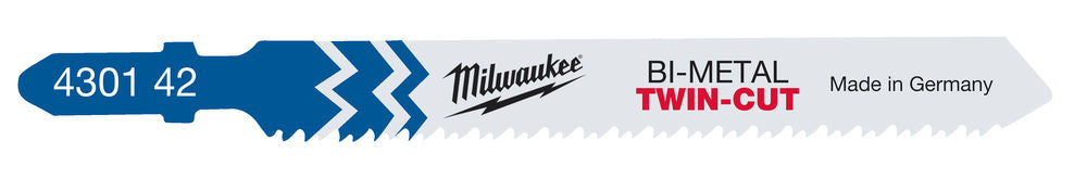 Milwaukee T123XF 75/2,5 mm pistosahanterä