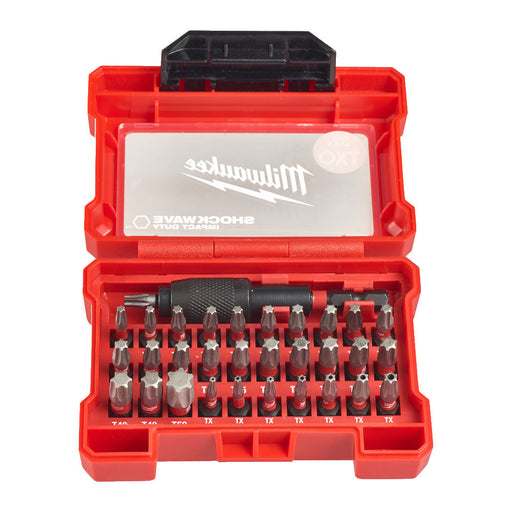 Milwaukee Shockwave ruuvikärkisetti torx 32 osaa