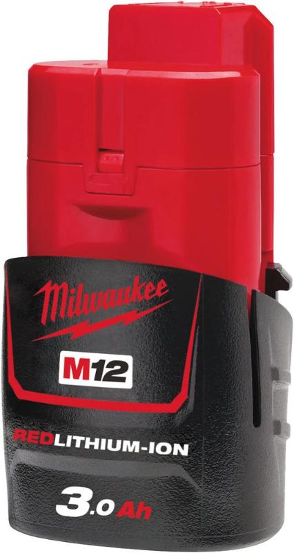 Milwaukee M12 B3 3.0 Ah akku