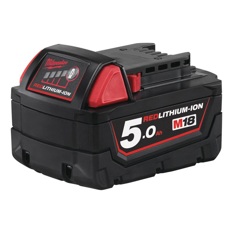 Milwaukee M18 5.0 Ah akku