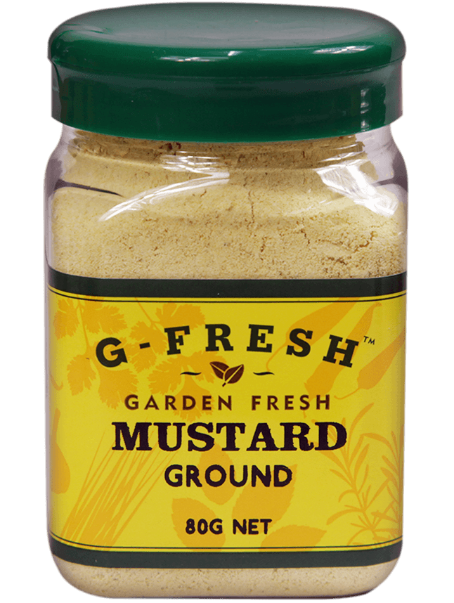Gfresh Mustard Ground 80g