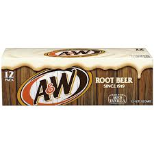 A&W Root Beer 12pack