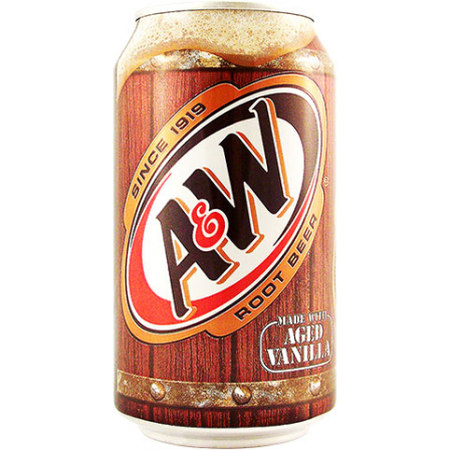 A&W Root Beer Can 330ml