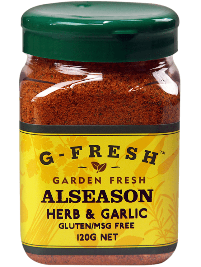 Gfresh Alseason Herb Garlic 120g