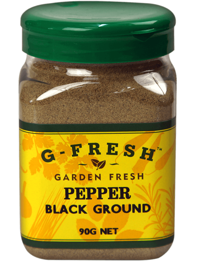 Gfresh Pepper Black Ground 90g