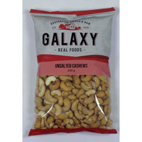 Galaxy Cashews Unsalted