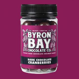Byron Bay Choc Co Chocolate Cranberries