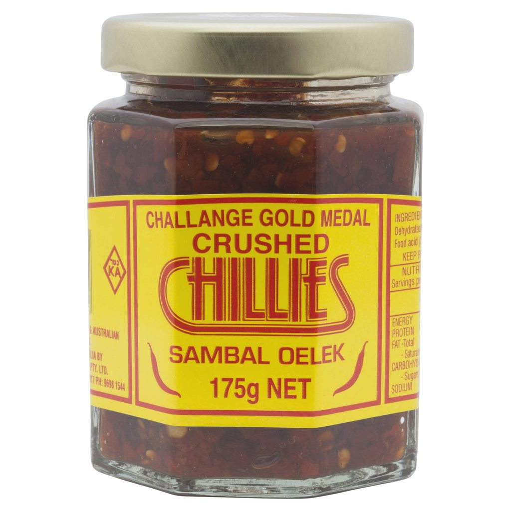 Challenge Crushed Chillies 175g