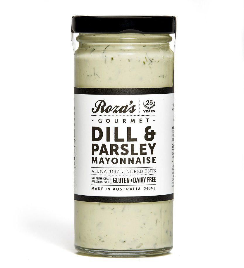Roza's Sauces Dill & Parsley Mayonnaise