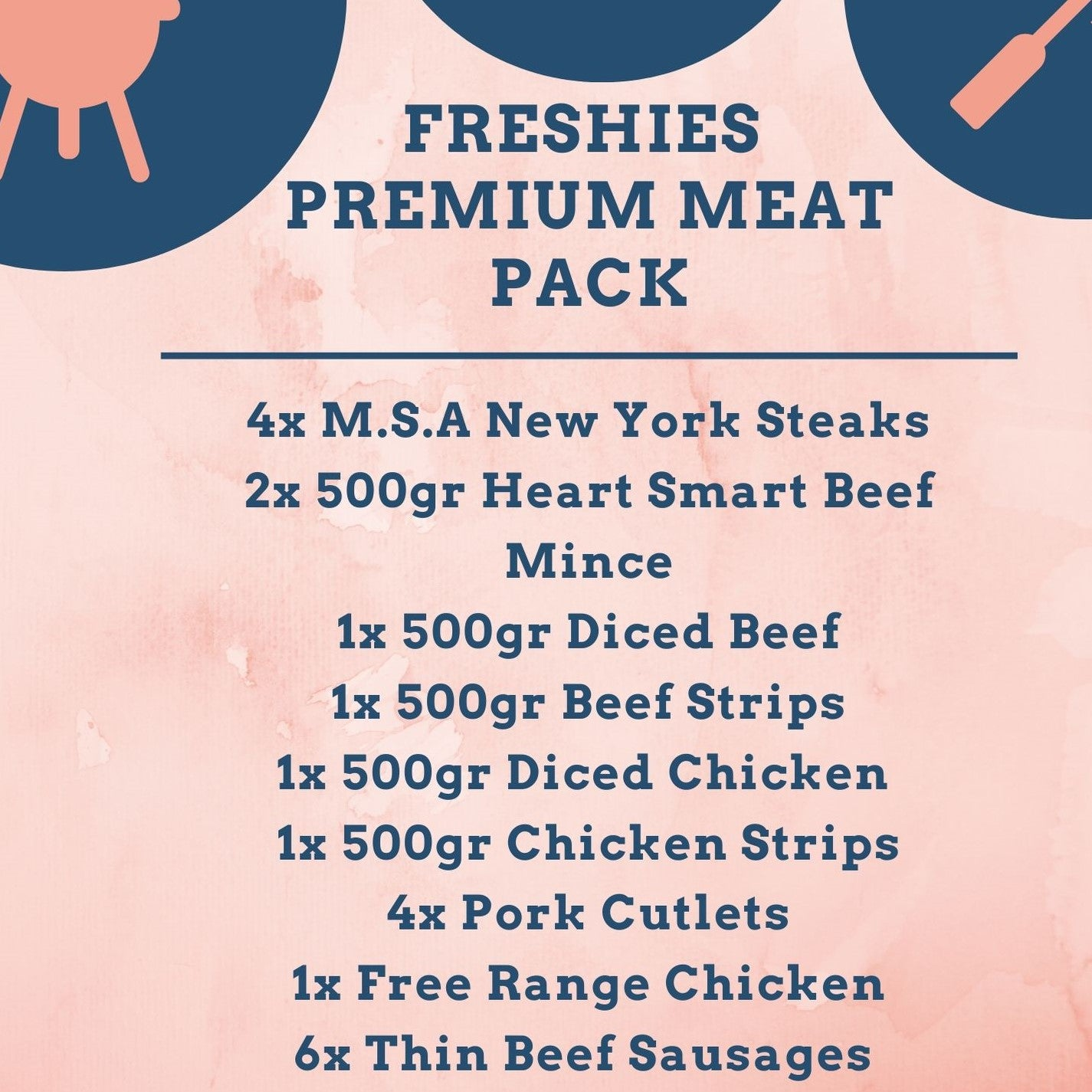 Freshies Premium Meat Pack