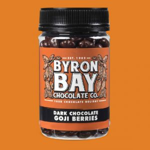 Byron Bay Choc Co Chocolate Goji Berries