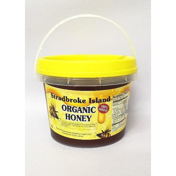 Honey Pure 1kg Tub Stradbroke Island