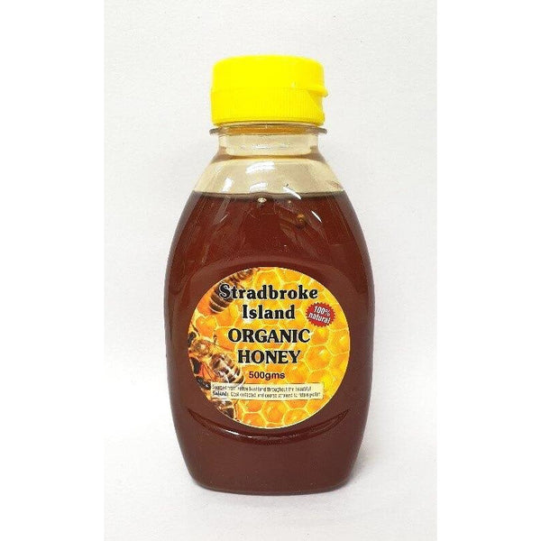 Honey Pure 500ml Squeeze Bottle Stradbroke Island