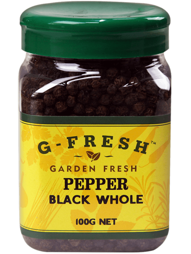 Gfresh Pepper Black Whole 100g