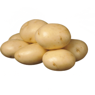 Potatoes White Washed Medium 1kg
