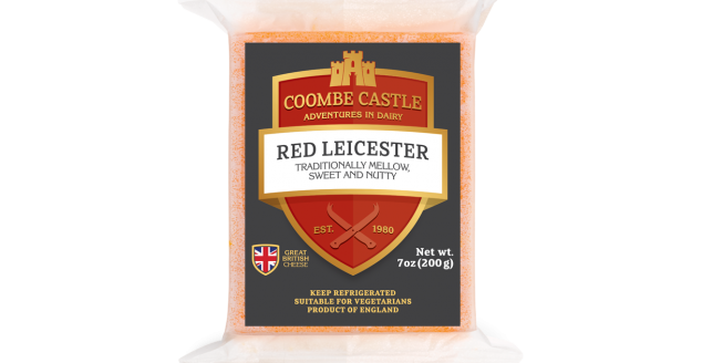Coombes Castle Red Leicester Cheese 200gr