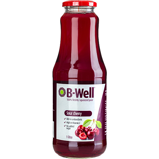 Sour Cherry Juice 1L B-Well