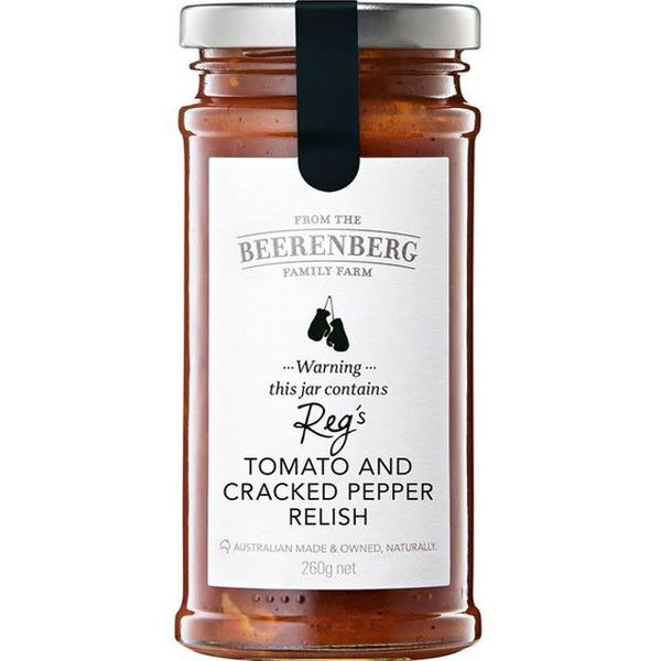 Beerenberg Tomato Cracked Pepper Relish