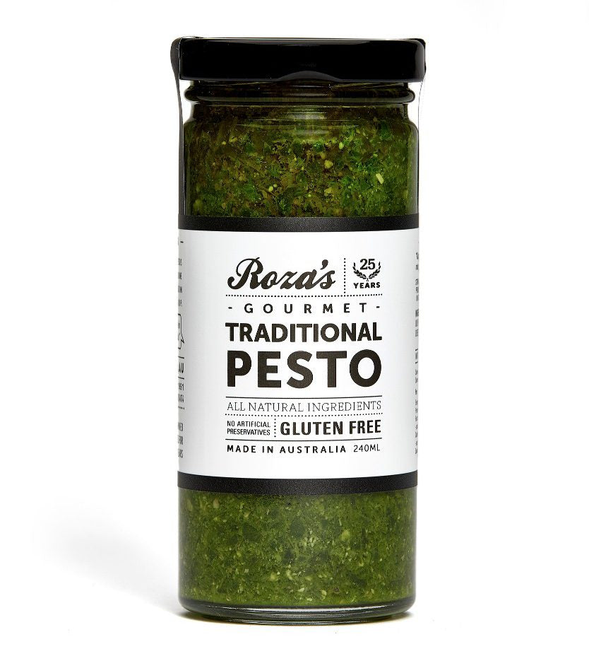 Roza's Sauces Traditional Pesto