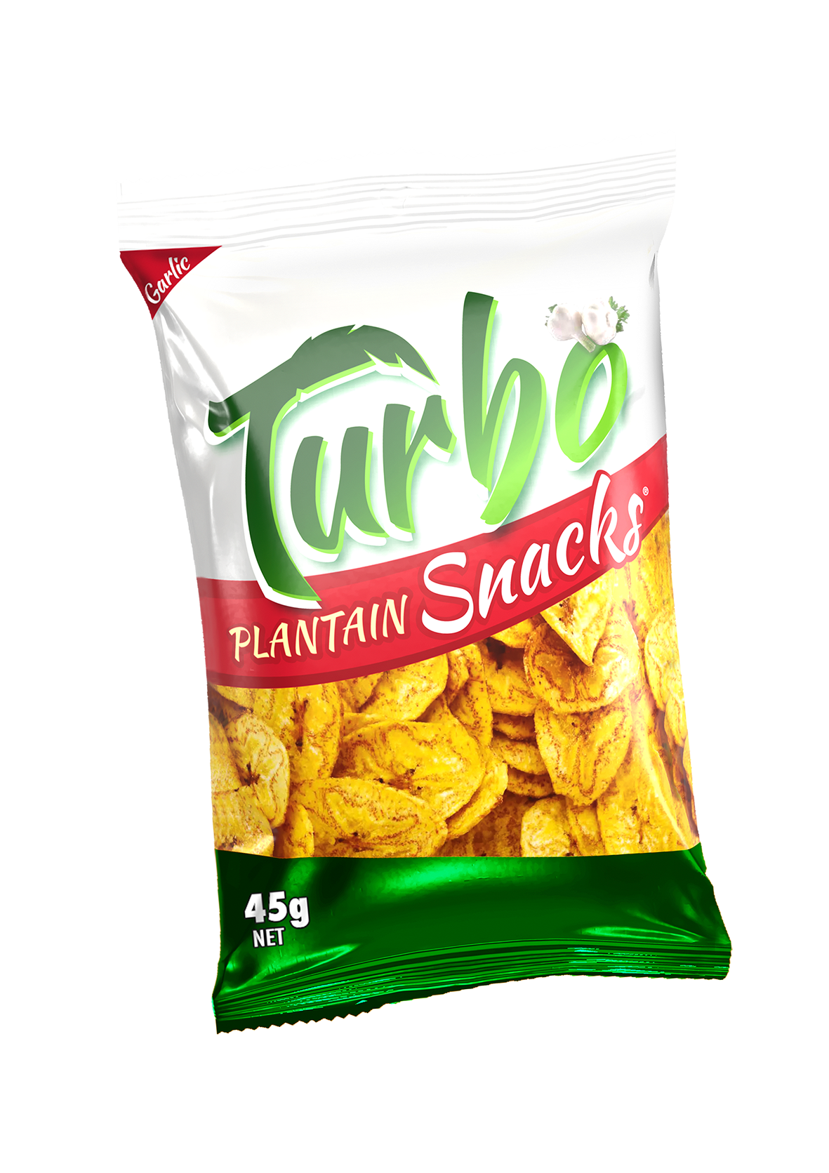 Turbo Snacks Garlic 45gr